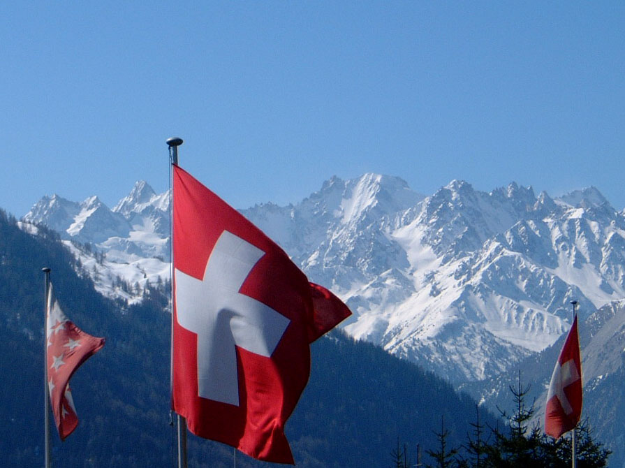 Verbier Flags